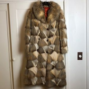 Penny Lane real fur coat excellent condition Lynx?